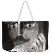 Man With A Handlebar Moustache Weekender Tote Bag