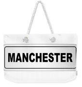 Manchester City Nameplate Weekender Tote Bag