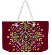 Mandala Flowering Series#2. Terracotta Weekender Tote Bag
