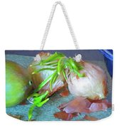 Mango And Two Onions Weekender Tote Bag