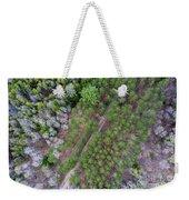 Manistee River Aerial Weekender Tote Bag