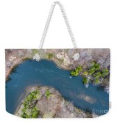 Manistee River From Above Weekender Tote Bag