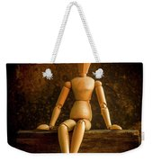 Mannequins On A Wooden Box Weekender Tote Bag