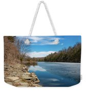 March Morning At Sanctuary Pond Weekender Tote Bag