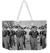 Marchers And Convent Members Weekender Tote Bag