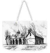 Marcus Daly Tammany Barn Hamilton Montana Weekender Tote Bag