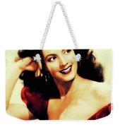 Maria Felix, Vintage Actress Weekender Tote Bag