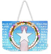 Marianas Anthem Weekender Tote Bag by Michelle Dallocchio