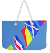Maritime Signal Flags Weekender Tote Bag