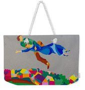 Mark And Bella Chagall Above The City Weekender Tote Bag
