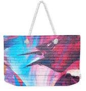Maroon Blackbird Weekender Tote Bag