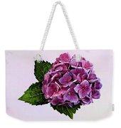 Maroon Hydrangea Weekender Tote Bag
