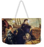 Mary, Queen Of Scots - The Farewell To France, 1867  Weekender Tote Bag