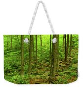 Massachusetts Appalachian Trail Spring Green Weekender Tote Bag