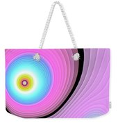Massive Hurricane Pink Weekender Tote Bag by Don Northup