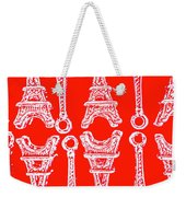 Match Made In Paris Weekender Tote Bag