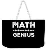 Math Genius Apparel Weekender Tote Bag