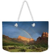 Maxwell Canyon Rainbow Weekender Tote Bag