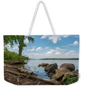 May Afternoon On The Hudson Weekender Tote Bag