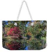 Maymont Japanese Garden Pond Weekender Tote Bag by Jemmy Archer