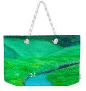 Meadow Beauty Weekender Tote Bag