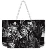 Mechanics Weekender Tote Bag by Clint Hansen