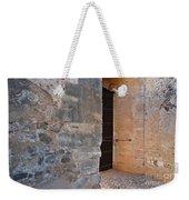 Medieval Castle Entrance In Algarve Weekender Tote Bag