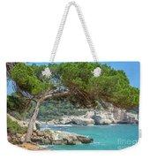 Mediterranean Landscape In Menorca Weekender Tote Bag