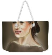Megan Markle Portrait Painting Weekender Tote Bag