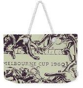 Melbourne Cup 1960 Weekender Tote Bag