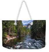 Merced River, Yosemite National Park Weekender Tote Bag