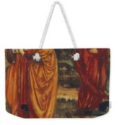Merlin And Nimue 1861 Weekender Tote Bag