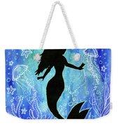 Mermaid Under Water Weekender Tote Bag