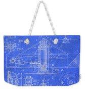Merry Go Round Amusement Carousel Vintage Patent Blueprint Weekender Tote Bag