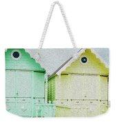 Mersea Island Beach Hut Oil Painting Look 5 Weekender Tote Bag