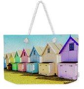 Mersea Island Beach Hut Oil Painting Look 9 Weekender Tote Bag