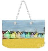 Mersea Island Beach Huts, Image 1 Weekender Tote Bag