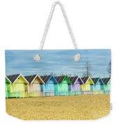Mersea Island Beach Huts, Image 3 Weekender Tote Bag