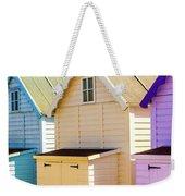 Mersea Island Beach Huts, Image 6 Weekender Tote Bag