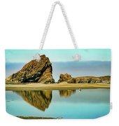 Meyers Beach Reflections - Oregon  Weekender Tote Bag