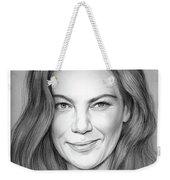 Michelle Monaghan Weekender Tote Bag