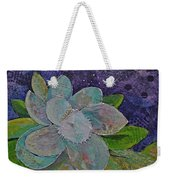 Midnight Magnolia I Weekender Tote Bag