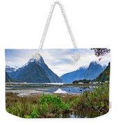 Milford Sound - New Zealand Weekender Tote Bag