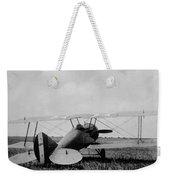 Military Biplane - Marine Flying Field - 1918 Weekender Tote Bag