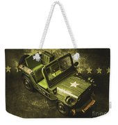 Military Green Weekender Tote Bag