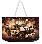 Military Machine Weekender Tote Bag