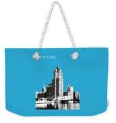 Milwaukee Skyline - 4 - Coral Weekender Tote Bag
