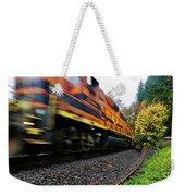 Missed The Train Weekender Tote Bag