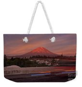 Misti Volcano In Arequipa, Peru, South America Weekender Tote Bag by Sam Antonio Photography