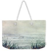 Misty Morning On Lawrencetown Beach Weekender Tote Bag